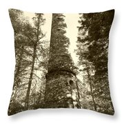 Smokestack Throw Pillow