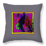 Smokin' As The Sun Goes Down Throw Pillow