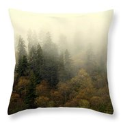 Smoky Mount Horizontal Throw Pillow