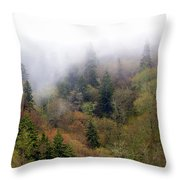 Smoky Mount Vertical Throw Pillow