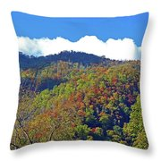 Smoky Mountain Scenery 6 Throw Pillow