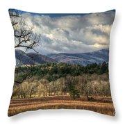 Smoky Mountain Splendor Throw Pillow