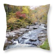 Smoky Mountains National Park 6 Throw Pillow