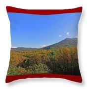 Smoky Mountains Scenery 9 Throw Pillow