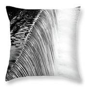 Smooth Cascade Throw Pillow by Valeria Donaldson