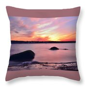 Smooth Fade Throw Pillow by Stephanie Varner