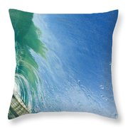 Smooth Wave Tube Throw Pillow