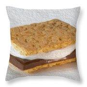 S'mores  Throw Pillow