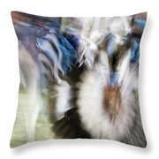 Smudge 217 Throw Pillow