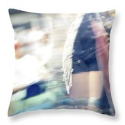 Smudge 243 Throw Pillow