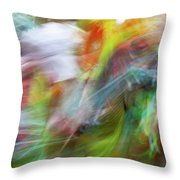 Smudge 391 Throw Pillow