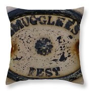 Smugglers Rest Or Rust? Throw Pillow