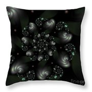 Snail Shells Throw Pillow