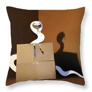 Snake 1 Throw Pillow