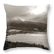 Snake Pass Colorado Throw Pillow