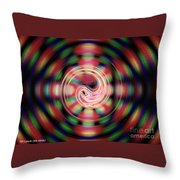 Snake Pit Abstract Throw Pillow