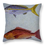 Snappers Throw Pillow