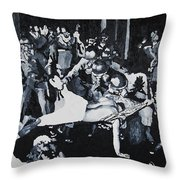 Sncc Photographer Is Arrested By National Guard Throw Pillow