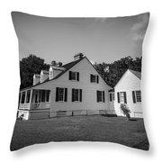 Snee Farm And Charles Pinckney Throw Pillow