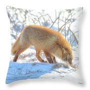 Sniff Sniff Throw Pillow