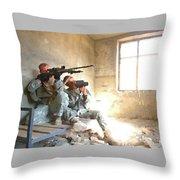 Sniper Crew Throw Pillow