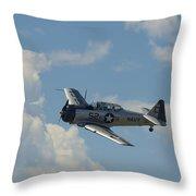 Snj-5 Bank Throw Pillow