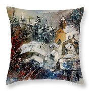Snon In Frahan Throw Pillow
