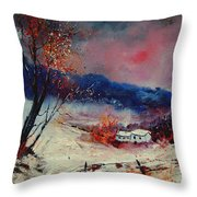 Snow 569020 Throw Pillow