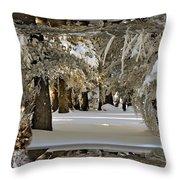 Snow Ball Demon Throw Pillow