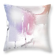 Snow Dune Throw Pillow