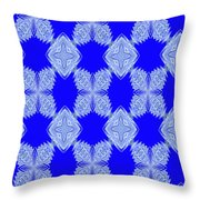Snow Flakes In May Throw Pillow