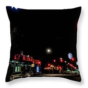 Holiday Lights Throw Pillow
