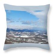 Snow Overlook Throw Pillow