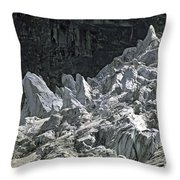 Snow Patch Spire IIi Throw Pillow