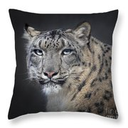 Snow Queen Throw Pillow
