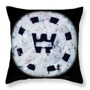 Snow Spirit Throw Pillow
