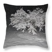 Snow White Tree Throw Pillow