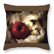 Snow White's Chamber Throw Pillow
