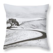 Snow Without You Throw Pillow