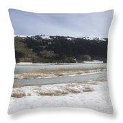 Snow World Long 2 Throw Pillow