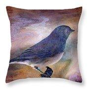 Snowbird Stories... Throw Pillow