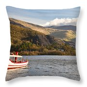 Snowdon Star Throw Pillow