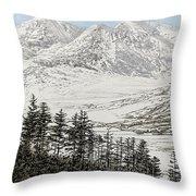 Snowdonia Throw Pillow