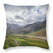 Snowdonia Throw Pillow