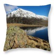 Snowdonia One Throw Pillow