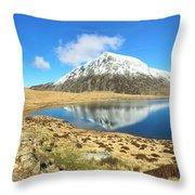 Snowdonia Panorama Throw Pillow