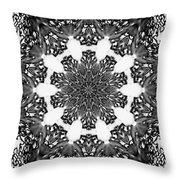 Snowflake 13 Throw Pillow
