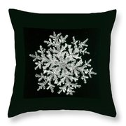 snowflake I Throw Pillow