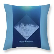Snowflake Jewel Throw Pillow