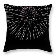 Snowflake Throw Pillow by Phill Doherty